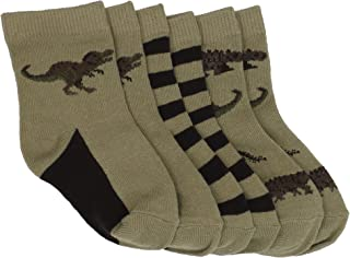 Country Kids Baby Boys` Dinosaur 3 Pair Socks