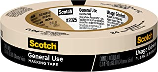 Scotch Greener Masking Tape for Basic Painting, 0.94 in x 60 yd, 2025, 1 Roll