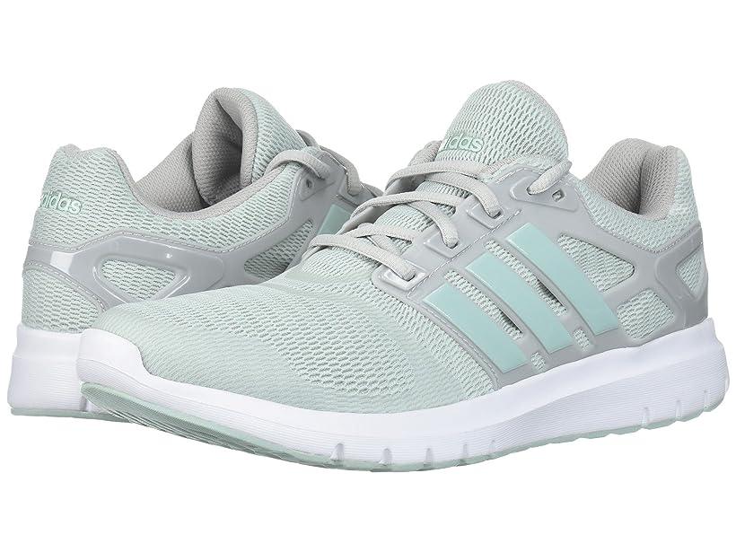 定期的振る舞い連邦(アディダス) adidas レディースランニングシューズ?スニーカー?靴 Energy Cloud V Grey Two/Ash Green 10.5 (27.5cm) B - Medium