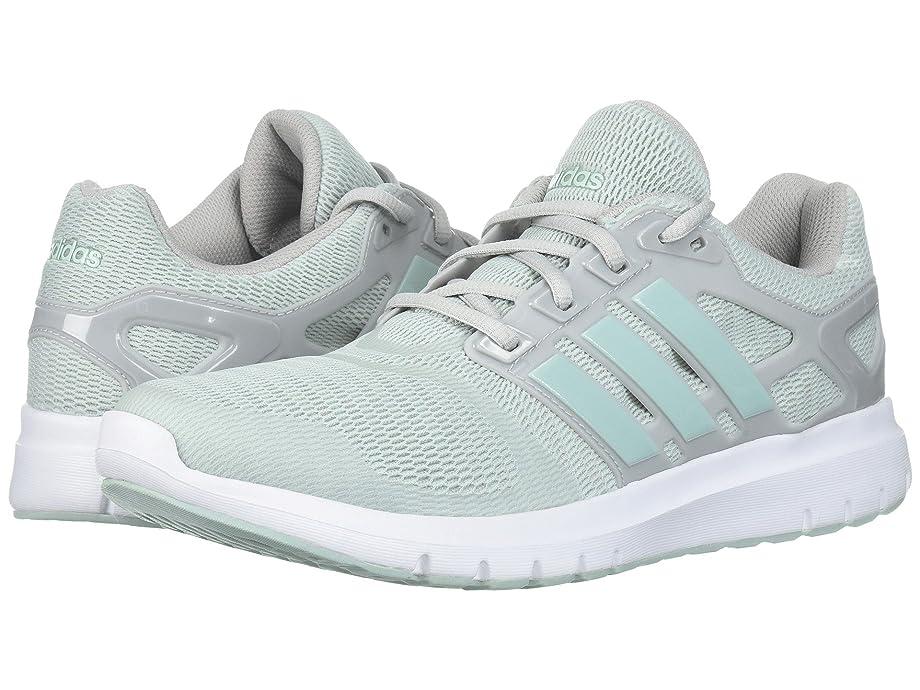 数学者前方へ冬(アディダス) adidas レディースランニングシューズ?スニーカー?靴 Energy Cloud V Grey Two/Ash Green 10.5 (27.5cm) B - Medium