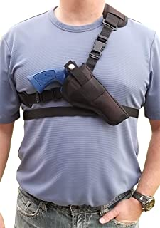 Silverhorse Holsters Chest/Shoulder Gun Holster | Fits Smith & Wesson N Frame Revolver Models 27, 29, 57, R8, 325, 327, 625, 627, 629 with a 3