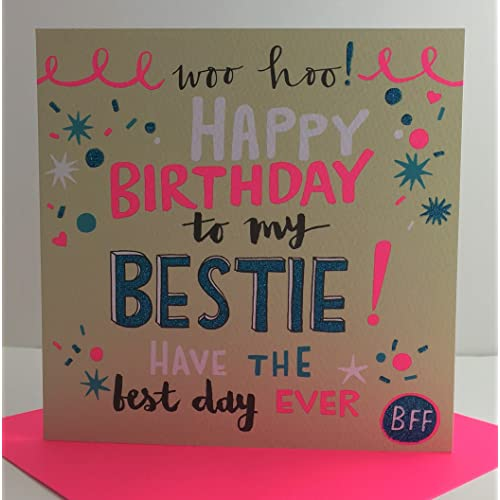 Rachel Ellen Designs Best Friend Birthday Card