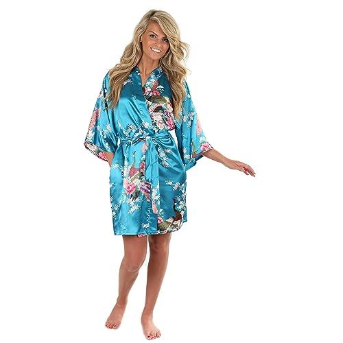 c88bb7b3552a0 Plus Size Kimono Robe: Amazon.com