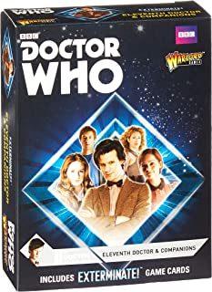 Doctor Who Eleventh Doctor & Companions Set for Exterminate! The Miniatures Game