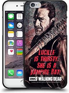 Official AMC The Walking Dead Lucille Vampire Bat Negan Black Soft Gel Case Compatible for iPhone 6 / iPhone 6s