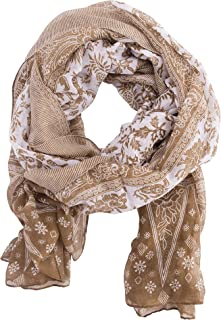 Insect Shield Lightweight Versatile Wrap Scarf for Insect & Bug Protection - Dark Taupe, One Size