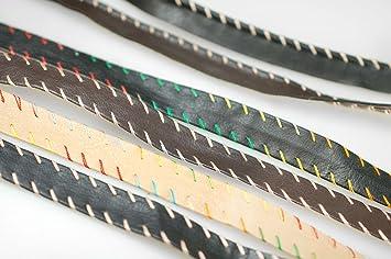 30mm APRICOT Vegan Leather Bias Tape Trimmings Trims Faux Imitation PU Strap