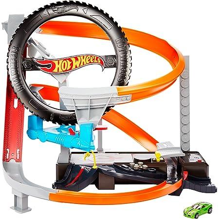 ホットウィール(Hot Wheels) ハイパーブースト タイヤショップ プレイセット 【専用ベーシックカー1台付き】 GJL16