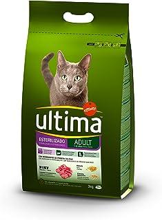 Ultima Pienso para gatos esterilizados adultos, con buey - 3