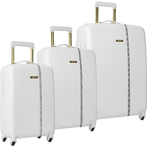 7d3afccad Ninewest 3 Piece Hardside Spinner Luggage Set