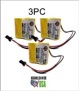 3pc Lithonia ELB-B002 Battery Emergency Light 3.6v 2.2Ah NiCD ELBB002