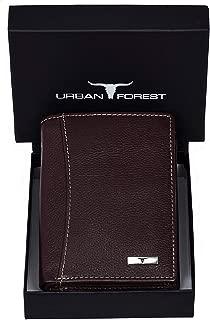 URBAN FOREST Orlando Dark Brown Leather Men's Wallet