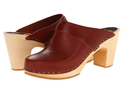 Swedish Hasbeens Slip In (Cognac) Women