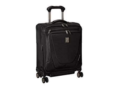 Travelpro Crew 11 International Carry-On Spinner (Black) Carry on Luggage