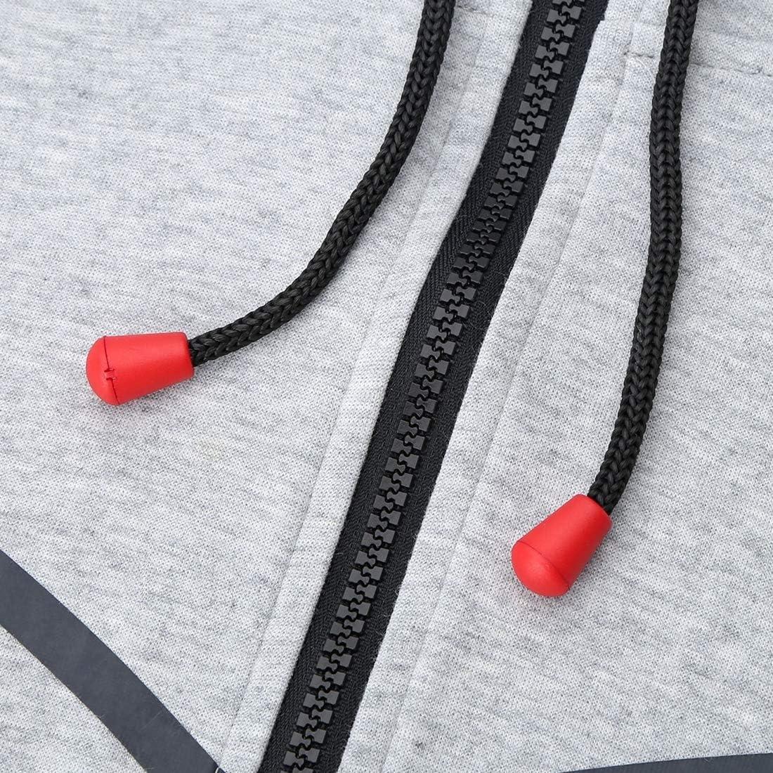 30pc Cord Ends Campana Corda Serrature di fissaggio con chiude coperchio fai da te con coulisse di fissaggio Tappi per lacci Borse//Abbigliamento//Scarpe