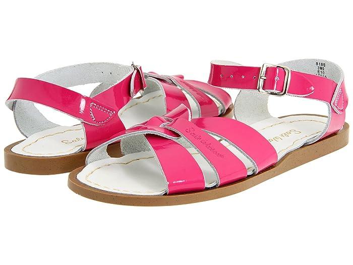 Salt Water Sandal by Hoy Shoes  The Original Sandal (Toddler/Little Kid) (Shiny Fuchsia) Girls Shoes