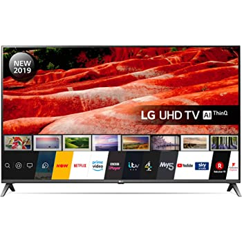 LG Electronics 50UM7500PLA 50-Inch UHD 4K HDR Smart LED TV with Freeview Play - Dark Meteor Titan colour (2019 Model) with Alexa built-in