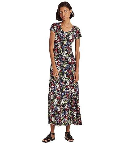 LAUREN Ralph Lauren Floral Cotton-Blend Maxidress