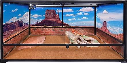 Carolina Custom Cages Terrarium, Tall Extra-Long Deep 48Lx24Dx24H, Easy Assembly