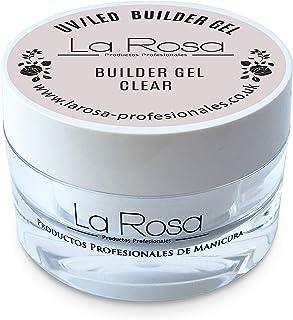 La Rosa builder gel clear gel de construcción uv transparente - 30 ml
