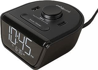 Brandstand | CubieWink | User Friendly & Convenient Alarm Clock Charger | 2 USB Ports