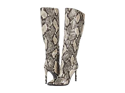 Steve Madden Olga Over-the-Knee Boot (Natural Snake) Women