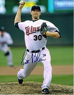 Scott Baker Autographed Photo - 11X14 W COA - Autographed MLB Photos