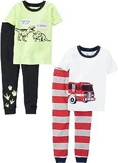 Carter's Baby Boys' 2-Pack 2 Piece Cotton Pajamas