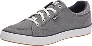 Keds Women's Center II Sneaker, Navy Chambray, 6 Medium