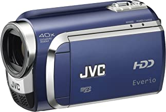JVC Everio GZ-MG630 60GB Standard Def Camcorder (Blue) (Discontinued by Manufacturer)