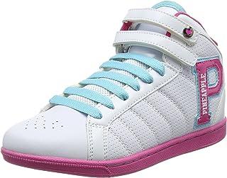 Pineapple Girls//Ladies Slip On Denim Quality Canvas Shoes UK13 Kids-Uk5 Large