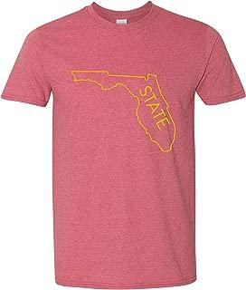 Florida State Outline Men's Super Soft Vintage T-Shirt