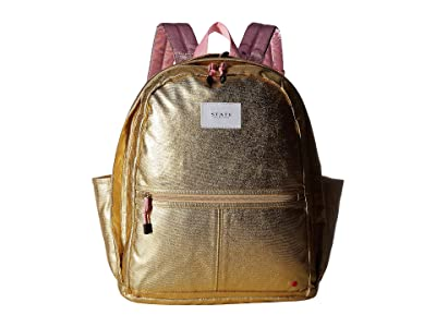 STATE Bags Kent (Gold/Pink) Backpack Bags