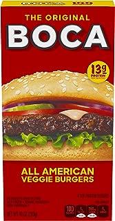 Boca Original All American Frozen Veggie Burgers (4 Count)