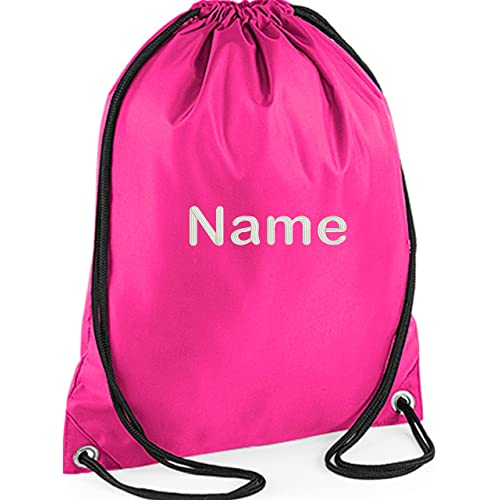 EMBROIDERED Personalised Drawstring GYM Bag e4794427b08b5
