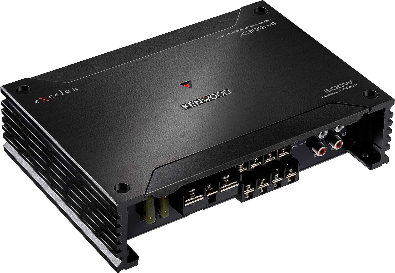Kenwood 4 Channel Class D Amplifier Under 200