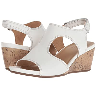 Naturalizer Cinda (White Leather) Women
