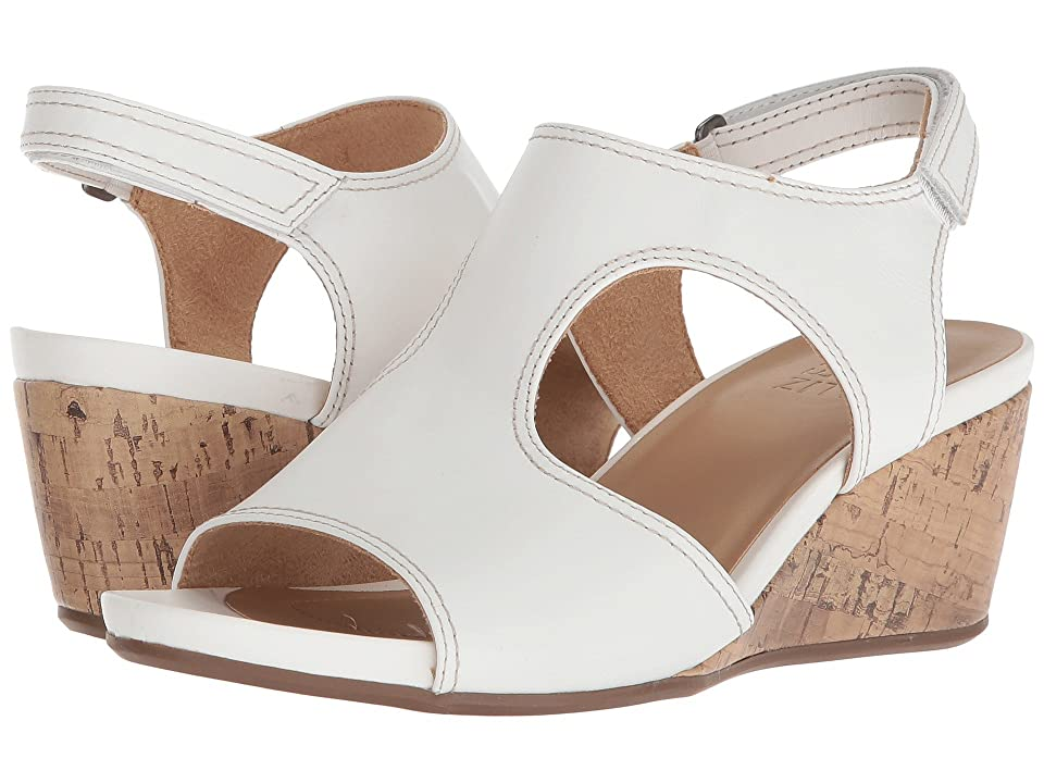 Naturalizer Cinda (White Leather) Women