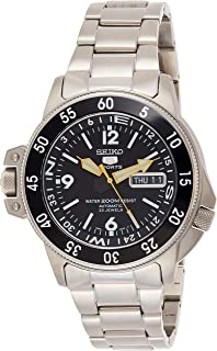 Seiko Five Sports Men Automatic Watch - SKZ211K1 Silver