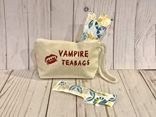 vampire teabags tampon bag