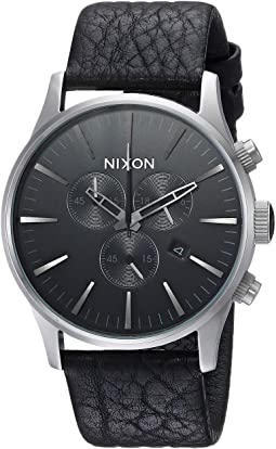 Nixon - Sentry Chrono Leather