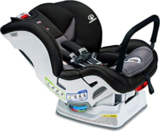 Britax Marathon ClickTight Anti-Rebound Bar Convertible Car Seat - 1 Layer Impact Protection - Rear & Forward Facing - 5 to 65 Pounds, Verve