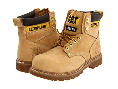 Caterpillar 2nd Shift Steel Toe (Honey Nubuck) Men