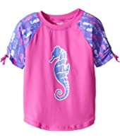 Hatley Kids - Sea Horses Short Sleeve Rashguard (Toddler/Little Kids/Big Kids)