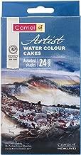 Camel Artist Water Colour Cake Set - Pack of 24 (Blue)