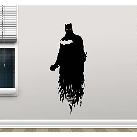 001 Kids Boys BATMAN Comics Decal Removable WALL STICKER Home Decor Art No