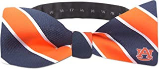 NCAA Woven Silk Repp Stripe Collegiate Logo Bow-Tie 1