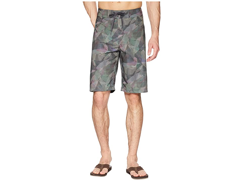Prana Sediment Short (Green Hex) Men