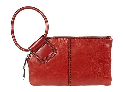 Hobo Sable (Brick Vintage Hide) Clutch Handbags