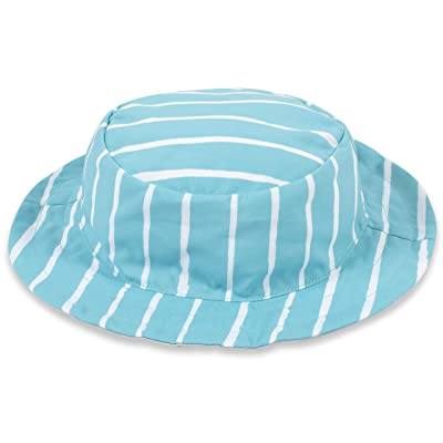 Grow By Gerber Reversible Sun Swim Beach Hat Upf 50+ Quick Dry